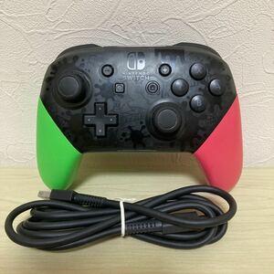 Nintendo Switch Proコントローラー スプラトゥーン2 エディション ニンテンドースイッチ 純正品