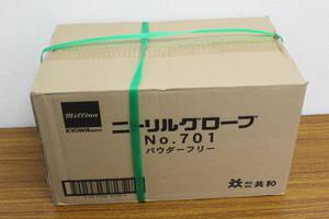 未使用 未開封 ニトリルグローブ 共和 手袋 / LH-701-L / 300枚 × 10箱 入り 計 3000枚 M サイズ 大量 激安1円スタート
