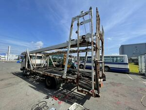 3 pcs. loading loading car carrier only Aichi receipt limitation (pick up) carrier car truck carrier