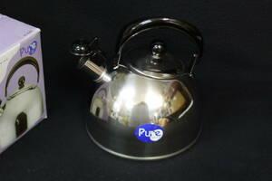 J144 ケトル やかん 2.3L ステンレス製 調理器具 /80