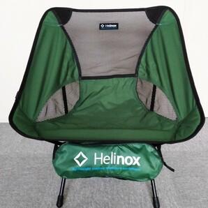 GREEN♪ Helinox  ヘリノックス チェアワン グリーン (中古)