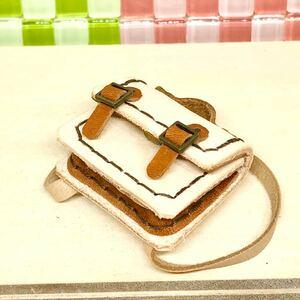 革細工 リュック型かばん 横幅3.7センチ miniature bag.