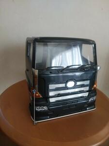グランドプロフィア ムネトラ タミヤ1/14 ビックトラックシリーズ用ボディ キャビン グラプロ 日野 スカニア トレーラー