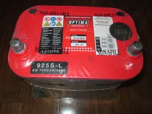 オプティマ レッドトップ バッテリー 新古 おまけ付き 管理NO 1016-01