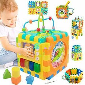 Tebrcon ビーズコースター ルーピング 子供 知育玩具 セット 人気 早期開発 指先訓練 積み木 男の子 女の子 誕生日
