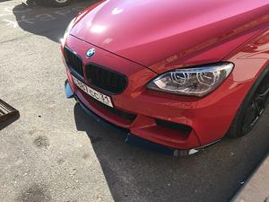 BMW 第3世代 6シリーズ F13 2ドア クーペ Mスポーツ用 '11~'19 社外 ABS製 フロントリップ スポイラー/スプリッター エアロパーツ 未使用
