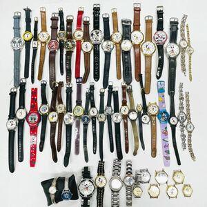 Mickey Mouse 腕時計 50本 ミニーマウス 大量 まとめてセット クォーツ SEIKO-自動巻 Disney ディズニー ミッキーマウス まとめ売り 513