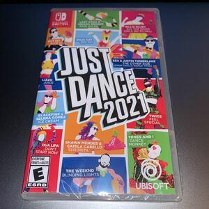 Just Dance 2021 switch ソフト 北米版 ★新品未開封