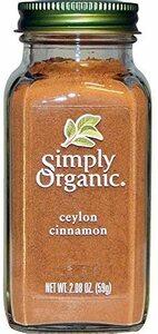 Simply Organic (セイロンシナモン) [並行輸入品]