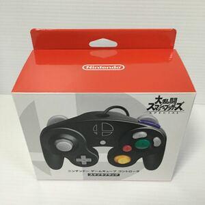 Nintendo ニンテントーケームキューフコントローラ スマブラBK