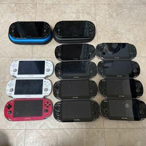 送料無料 大量まとめ PS Vita SONY ソニー PCH-2000 PCH-1100 PCH1000 13台