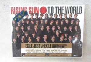 EXILE TRIBE/RISING SUN TO THE WORLD【m15k-1573i】
