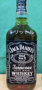 ウイスキー ジャックダニエル テネシーウイスキー 古酒 旧ボトル バーボン 1L