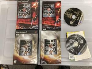 21-PS2-732 プレイステーション2 三国無双3.4 セット 動作品 プレステ2