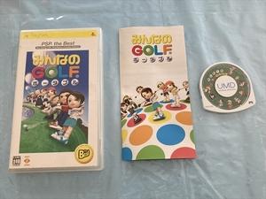 21-PSP-202 プレイステーションポータブル みんなのGOLFポータブル the Best版 動作品 PSP