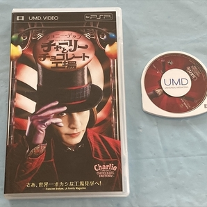 21-PSP-233 プレイステーションポータブル UMD VIDEO チャーリーとチョコレート工場 動作品 PSP