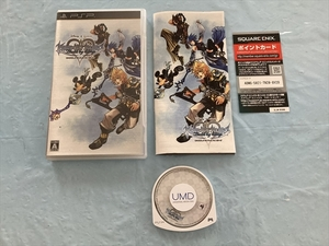 21-PSP-244 プレイステーションポータブル キングダムハーツ バース バイ スリープ 動作品 PSP