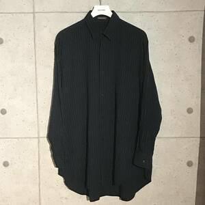 ONtheCORNER ITEM No.841/Y's formen ワイズフォーメン ストライプレーヨンシャツ 01ss YohjiYamamoto POURHOMME ヨウジヤマモト オム