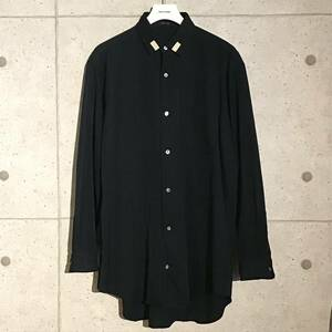 ONtheCORNER ITEM No.853/Y's formen ワイズフォーメン ラペルデザインロングシャツ 96ss YohjiYamamoto POURHOMME ヨウジヤマモト オム