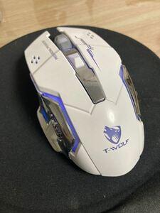 マウス ワイヤレスマウス 無線 超静音 バッテリー内蔵 充電式