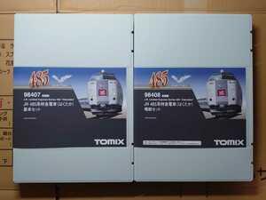 TOMIX 98407・98408 JR485系特急電車(はくたか)基本・増結セット 8両