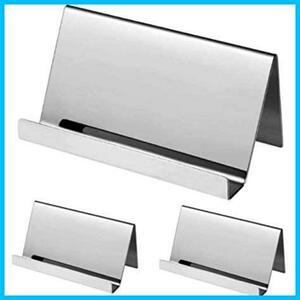 【Free Shipping-Cheap】 (3 pieces set) Price Card Card Stand Stainlesshr Heizi G0616 Name Save Beauty Sales