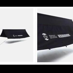 NEIGHBORHODD NH . ODE / CE-TARP 新品未使用品ネイバーフッド タープ テント GRIP SWANY キャンプ アウトドア