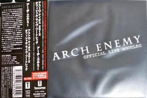 中古 ARCH ENEMY - OFFICIAL LIVE BOOTLEG DVD付き メディアパス収納 帯付き