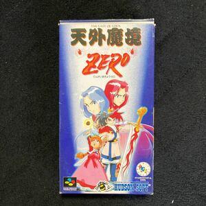スーパーファミコンソフト 天外魔境ZERO SFC