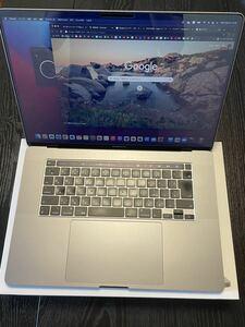 【超美品】MacBook Pro 16インチ 2019 32GB SSD1TB 8コア 2.4GHz intel core i9 充電回数13回以下 スペースグレイ (購入価格36万円)