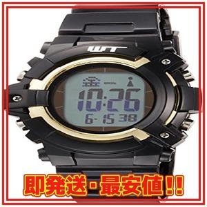 限定価格!ブラック [アリアス] 腕時計 デジタル 電波 ソーラー メンズ ブラック WT13003RCSOL190XE