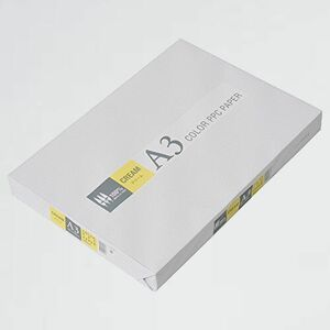 好評 新品 カラ-コピ-用紙 APP U-XY 紙厚0.09mm 500枚 A3 クリ-ム (イエロ-)