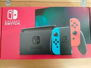 Nintendo Switch ネオンレッド ネオンブルー未使用品