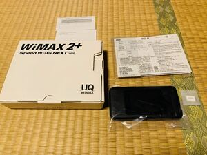 UQ SPEED モバイルWi-Fiルーター au WiMAX2