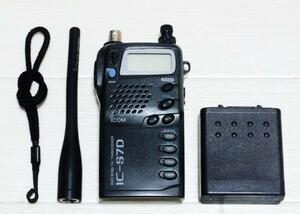 アイコム IC-S7D デュアルバンド 144/430MHz ハンディー機