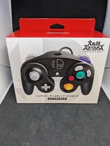 新品未開封 Nintendo switch ゲームキューブコントローラー スマブラ ブラック 任天堂 スマッシュブラザーズ 純正品