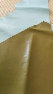 端革 ハギレ ヤギ革 2色 革 レザークラフト