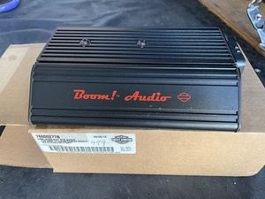 Harley original boom power amplifier 2014 year on and after touring