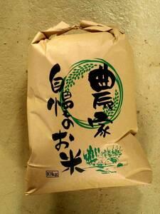 送料込み 令和3年産玄米10kg 減農薬栽培カグラモチ 福井県産 農家直送 管理番号4