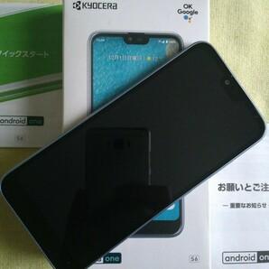 【超美品 16GSDカードオマケ】Android One S6 京セラ Y!mobile