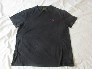 ラルフローレン 黒Tシャツ XL