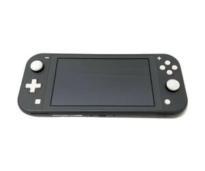 【ジャンク】本体のみ Nintendo Switch Lite ニンテンドースイッチライト グレー キズ/破損/不具合有【034-211020-NA-02-FUR】