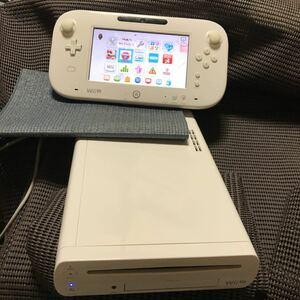Wii U 32GB 本体とゲームパットのみ NEWスーパーマリオブラザーズU・WiiパーティーU内蔵