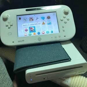 中古品 Wii U 32GB ・スーパーマリオブラザーズU内蔵・WiiパーティーU内蔵 860.741
