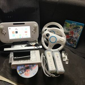 Wii U 32GB マリオカート8ソフト、Wiiリモコン2本付き 461.174