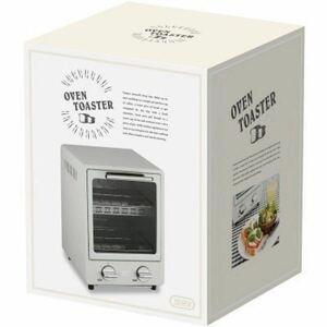 新品未使用 オーブントースター ラドンナ K-TS1-PA(PALE AQUA) Toffy オーブントースター 900W