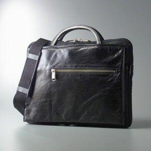 GI8820//定価¥23,760-*ウルティマトーキョー/ultima TOKYO*3way/スリムスタイルショルダーバッグ/ハンドバッグ/クラッチバッグ/鞄/黒