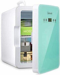 グリーン グリーン AstroAI 冷蔵庫 小型 ミニ冷蔵庫 小型冷蔵庫 冷温庫 2℃~60℃温度調整可能 6L 化粧品 小型で