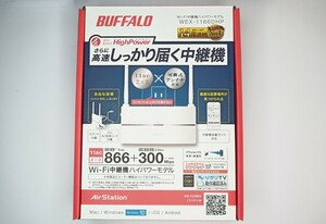 BUFFALO バッファロー 無線LAN中継機 Wi-Fi中継機 WEX-1166DHP