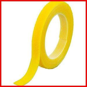 ≪新品≫黄 TRUSCO マジックバンド結束テープ 両面 10mm×1.5m